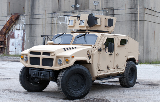 BRV-O is the design AM General is submitting to the US Government JLTV EMD program. Photo: AM General
