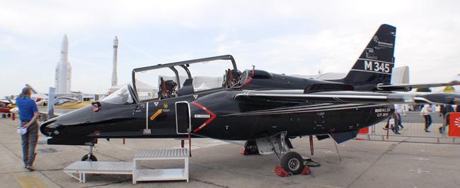M345 displayed at the Paris Air Show 2013. Photo: Noam Eshel, Defense-Update