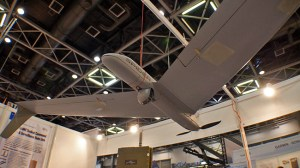 Innocon unveiled the Spider, a 3.5 kg micro-drone designed with a 1.75 meter span upper wing. According to the manufacturer, the Spider combined with one of three gimbaled, stabilized EO payloads, distinguish small detail such as a car license plate number.