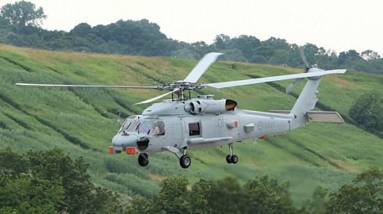 Australia's first MH-60R Seahawk Romeo helicopter (N48-001) conducted its initial test flight at Sikorsky's production facility in Stratford, Connecticut, USA June 26, 2013. Australia will receive 24 such helicopter to equip its surface combatants under Project AIR 9000 Phase 8.