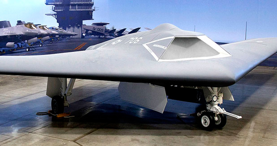 The blended wing configuration proposed by Lockheed martin for UCLASS highlights advanced stealth, avionics and sensors derived from the F-35 program. Image: Lockheed martin