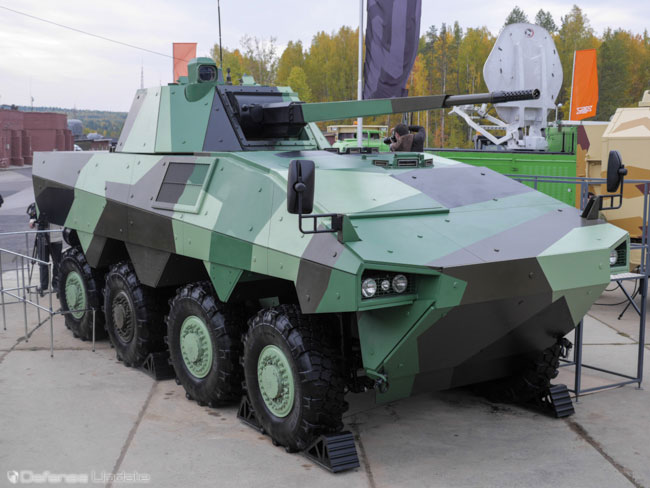 Uralvagonzavod-Renault new A t oM heavy IFV. Photo: Noam Eshel, Defense-Update