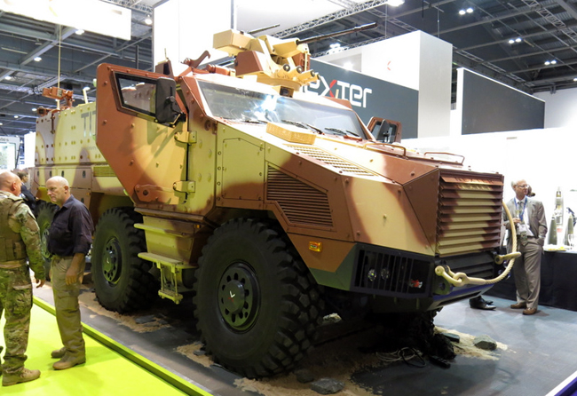 Nexter Titus 6x6 vehicle employs advanced design architecture to offer many advantages for infantry mobility