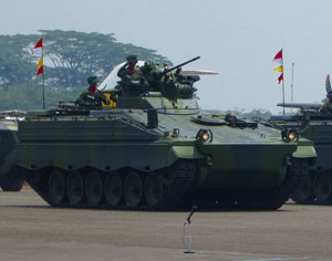 The German Marder 1A3 has been delivered from Germany to Indonesia. Photo: Rheinmetall Group