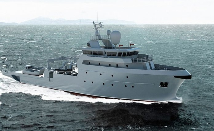 The French Navy will receive three B2M boats by 2016, to assist in EEZ security and support operations. Photo: PIRIOU