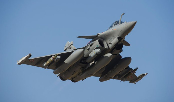 RAFAEL and Mirage 2000 fighter jets operating with the French Air Force and Navy are currently employed with laser designation pods and DAMOCLES targeting pods, both produced by Thales. The company is now contracted to develop the next generation targeting pod for these aircraft. Photo: French Air Force