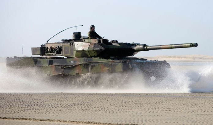 188 Leopard 2A5 tanks were modernized by the Dutch military to the current 2A6 standard between 2000 and 2006. 100 of these tanks are to be transferred to Finland, under the newly announced 200 million deal.