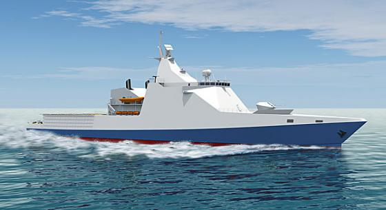 Project 22160 offshore patrol ship