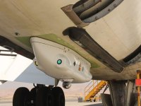 C-MUSIC DIRCM pod installed on an IAF Boeing 707 tanker. Photo: IMOD