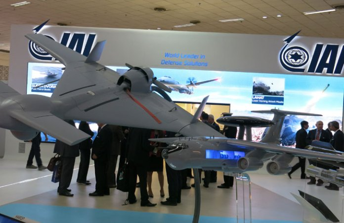 IAI is participating at DEFEXPO 2014 with a large display of capabilities in space, air, land and sea. Photo: Tamir Eshel, Defense-Update