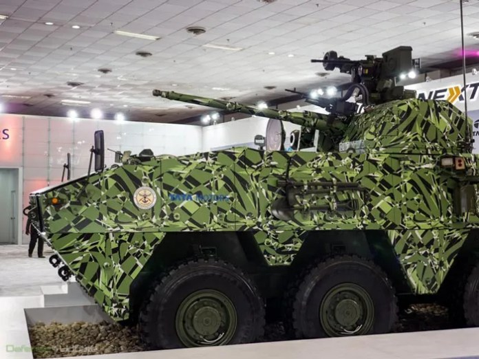 The Kestrel, designed by the DRDO was unveiled yesterday by TATA Motors. Photo: Noam Eshel, defense Update