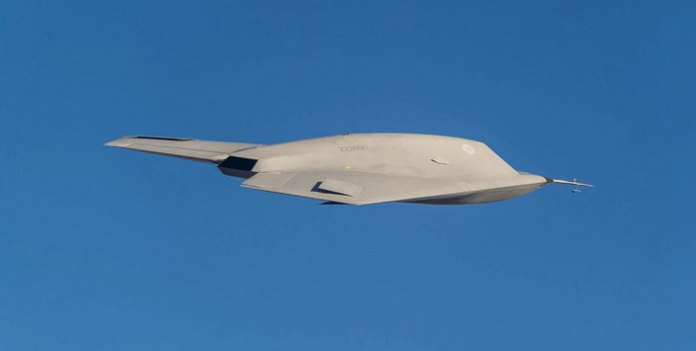 A side view of the Taranis UCAV in flight. Photo: BAE Systems/MOD