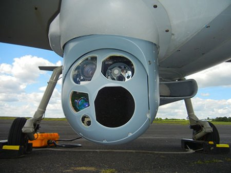 The Euroflir 410 from Sagem was tested on 30 flights earlier this year. Photo: Sagem