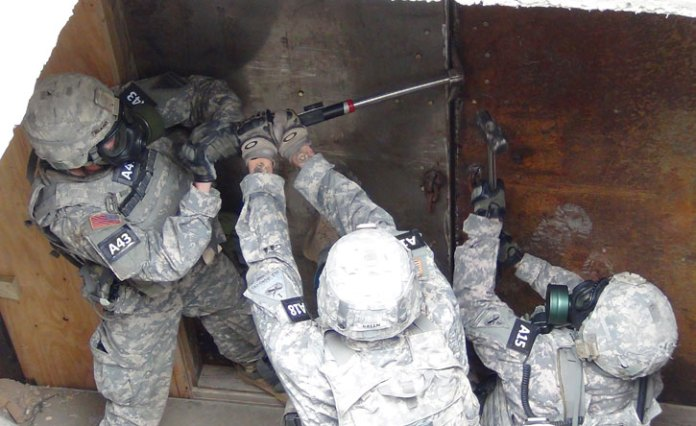 Cold breeching tools are required to enable soldiers to rapidly overcome obstacles, locked doors and passageways. Photo: US Army