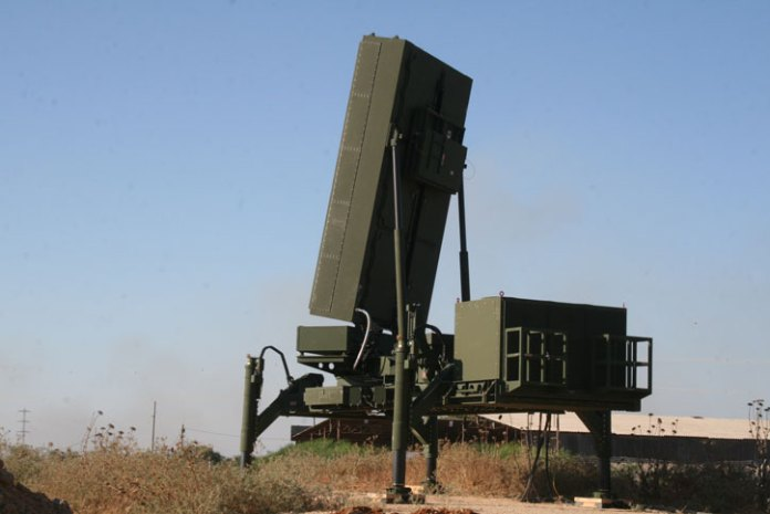 The EL/M-2284 Multi-Mode Radar produced by IAI Elta for the David's Sling, is now committed to the new Iron Dome unit. Photo: IMOD