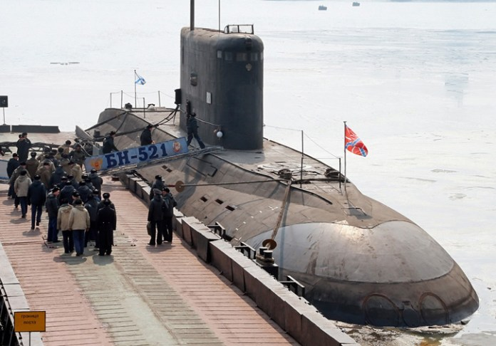 Varshavyanka, a Russian Navy Kilo class diesel-electric powered submarine. Photo: Novosti