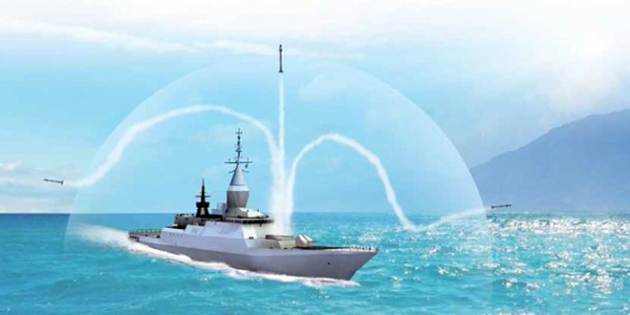 Rafael's new C-DOME close-in weapon system provides a defensive shield for naval surface vessels, against multiple simultaneous ripple attacks. Photo: RAFAEL