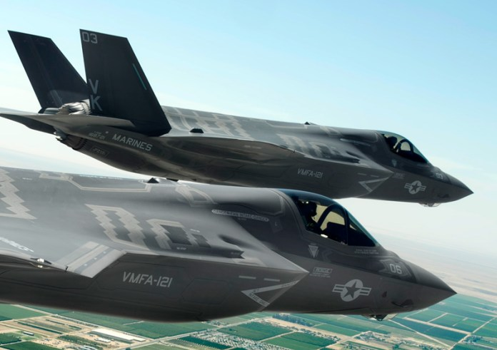 Marine Fighter Attack Squadron 121 (VMFA-121) at Marine Corps Air Station (MCAS) Yuma - is expected to be the first Marine Corps F-35 unit declared 'operationally ready' by the end of July 2015. Photo: Lockheed Martin.