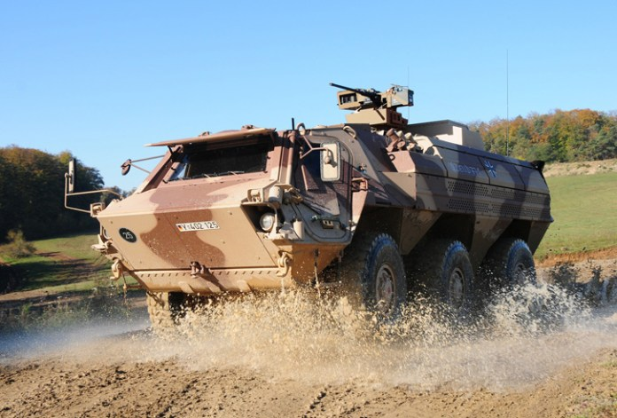 In 2013 Rheinmetall was awarded a €36 million contract to provide the Bundeswehr new 6x6 Fuchs/Fox 1A8 armored transport vehicles - a new version of the Fuchs fitted with higher level of protection. Photo: