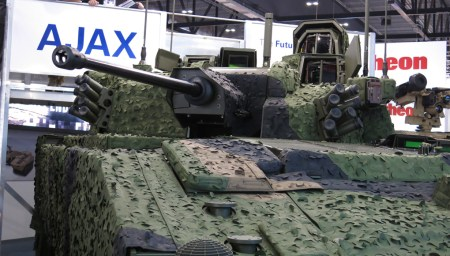 The new brigades will be equipped with about 600 Ajax vehicles of six different variants.