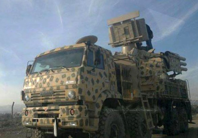 The Syrian army has recently received the SA-22 Pantsir S1 from Russia. The missile is also deployed by the Russian forces positioned in the country.