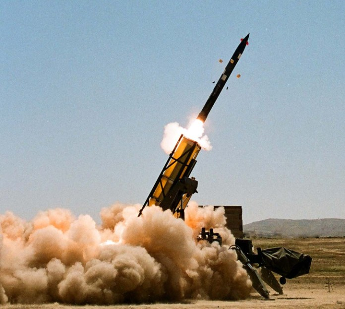 Fired from a range of 150 km, IMI Systems' 306mm Extra rocket can hit within less than 10 meters of a target. Photo: IMI Systems.