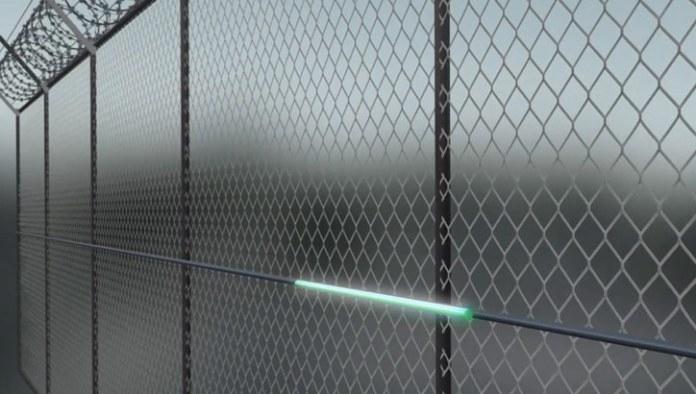 Magal's FiberPatrol-PR sensor installed on a fence. Image: Magal