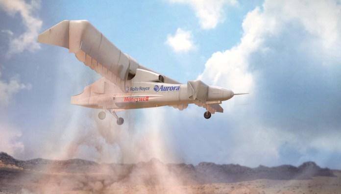 Aurora's LightningStrike X-Plane. Image: Aurora Flight Sciences