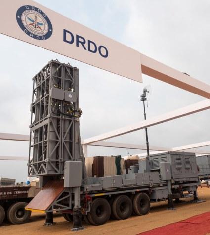 DRDO unveiled the MRSAM fire unit at Defexpo 2016. Photo: Noam Eshel, Defense-Update