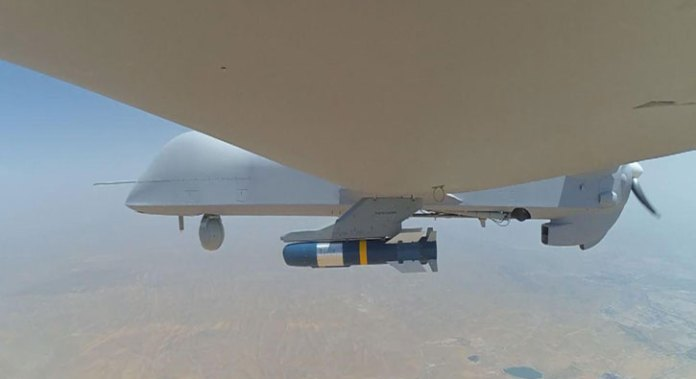 The AR-1 missile is one of several small munitions used by China's UAS, both for local use and export.