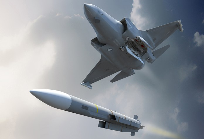 British F-35B to Carry Meteor Missiles from 2024