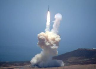 U.S. starts first test of key defense against ICBM attack