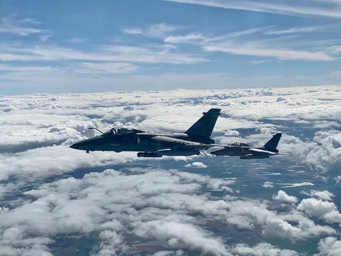 a 1 tinia WIL - Exercício Operacional Tínia treina diversas atividades além do combate aéreo