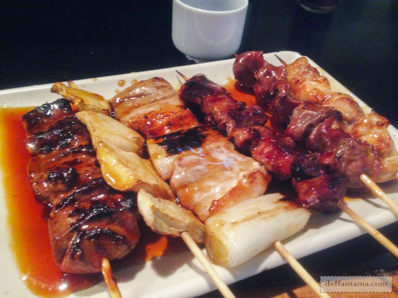Babymoon ke Jepang - Assorted Grilled Chicken