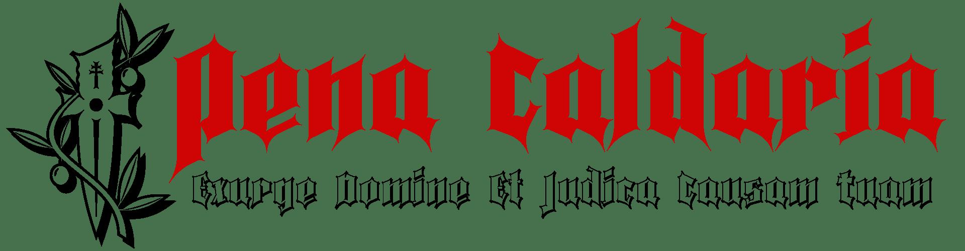 Pena Caldaria Ghotic Fonts - Exurge Domine et Judica Causam tuam
