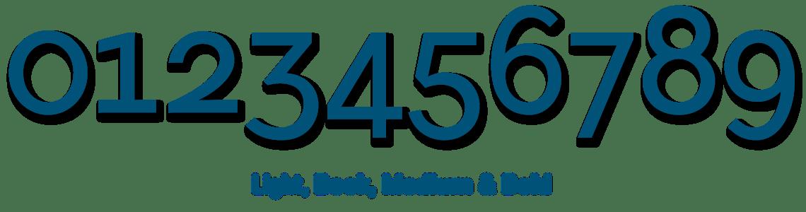 Flamante Sans Serif - NUmbers & Currencies