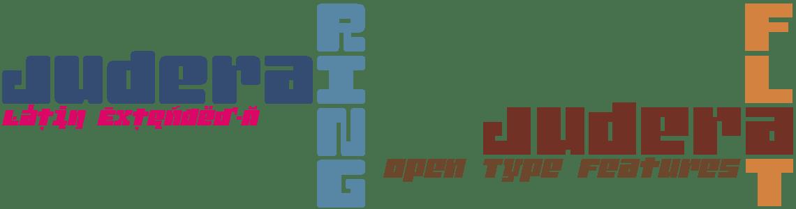 Judera Flat & Ring - Latin Extended-A