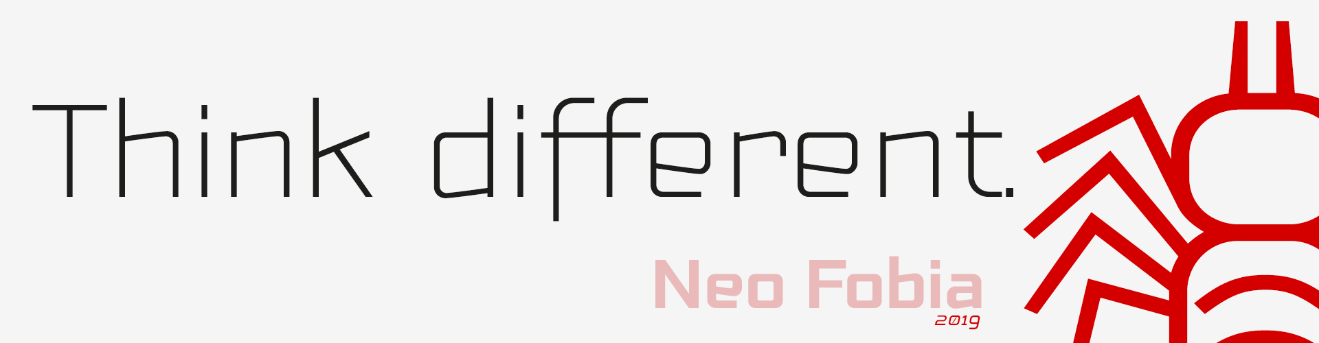 Neo Fobia Think different 2019