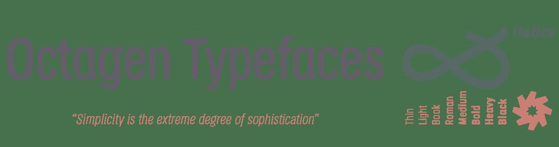 Octagen Sans Condensed Typefaces