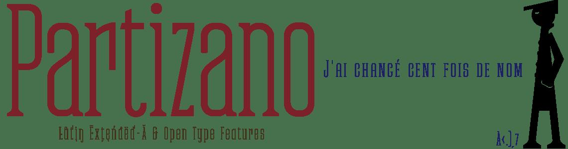 Partizano Serif Extra Condensed Font