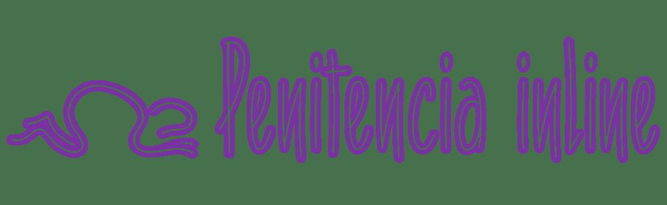 Penitencia Inline Script Font