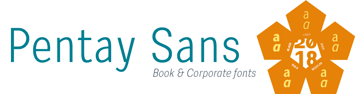 Pentay Sans - Book & Corporate Fonts