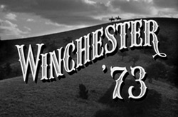 Winchester 73 typography