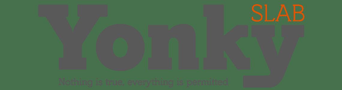 Yonky Slab Typeface Family