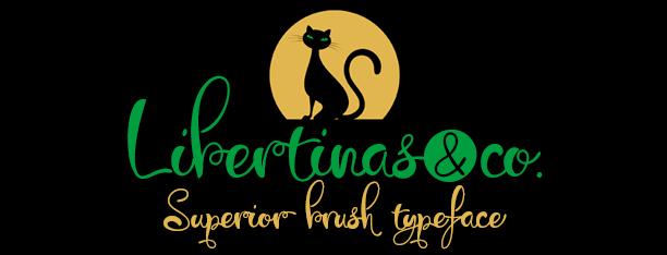 Libertinas & company font