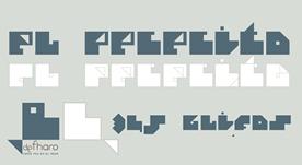 Fuente tipográfica experimental gratis