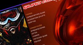 Página web realizada en Flash con galería de productos
