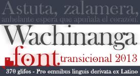 Fuente tipográfica con serif gratis para bajar