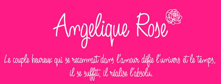 Angelique Rose -script font-