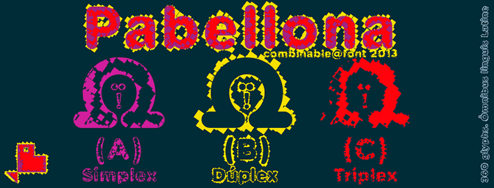 Pabellona family -3 Fonts-